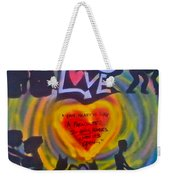 Occupy The Heart Weekender Tote Bag