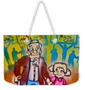 Occupy The Young And Old Weekender Tote Bag