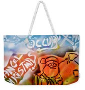 Occupy X-mas Weekender Tote Bag