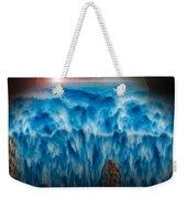 Ocean Falling Into Abyss Weekender Tote Bag