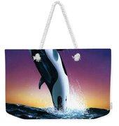 Ocean Leap Weekender Tote Bag