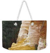 Ochre Quarry Of Roussillon, Provence Weekender Tote Bag