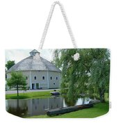 Octagonal Barn Reflects Weekender Tote Bag