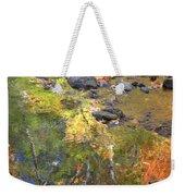 October Colors Reflected Weekender Tote Bag