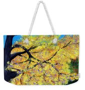October Fall Foliage Weekender Tote Bag