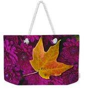 October Hues Weekender Tote Bag by Paul Wear