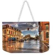 October Rain Weekender Tote Bag