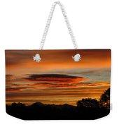 October's Colorful Sunrise 2 Weekender Tote Bag