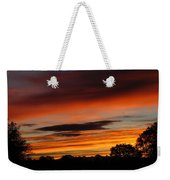 October's Colorful Sunrise Weekender Tote Bag
