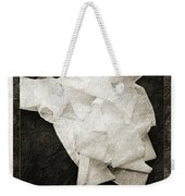 Ode To The Spare Roll Weekender Tote Bag by Andee Design