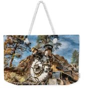 Of Mountain And Machine Weekender Tote Bag