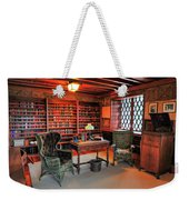 Office At Gillette Castle Weekender Tote Bag
