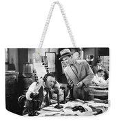 Office Scene, 1920s Weekender Tote Bag