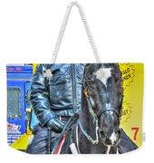 Officer And Black Horse Weekender Tote Bag