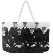 Officers Of The Titanic, 1912 Weekender Tote Bag