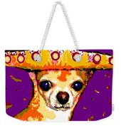Party Chihuahua Weekender Tote Bag
