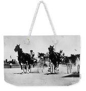 Ohio: Horse Race, 1904 Weekender Tote Bag