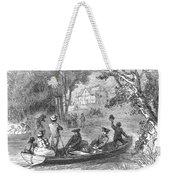 Ohio River: Emigrants Weekender Tote Bag