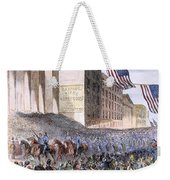 Ohio: Union Parade, 1861 Weekender Tote Bag