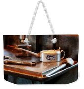 Oil Can And Wrench Weekender Tote Bag