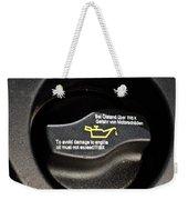 Oil Valve Cap Weekender Tote Bag