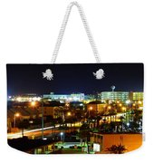 Okaloosa Island At Night Weekender Tote Bag