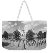 Oklahoma City National Memorial Black And White Weekender Tote Bag