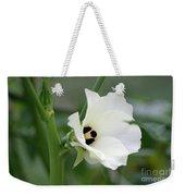 Okra Flower Weekender Tote Bag
