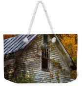 Old Abandoned House In Fall Weekender Tote Bag