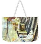 Old And Lonely In Portugal 08 Weekender Tote Bag