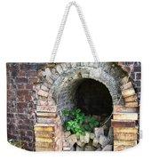 Old Antique Brick Kiln Fire Box Weekender Tote Bag