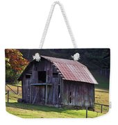 Old Barn In Etowah Weekender Tote Bag