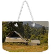 Old Barn On A Hot Summer Day In The Applegate Weekender Tote Bag