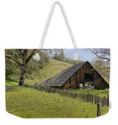 Old Barn On Highway 20 Weekender Tote Bag