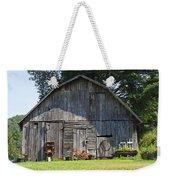 Old Barn South Of Brevard Weekender Tote Bag