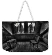 Old Black And White Tv Weekender Tote Bag