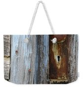 Old Blue Door 1 Weekender Tote Bag