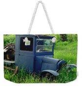 Old Blue Ford Truck Weekender Tote Bag