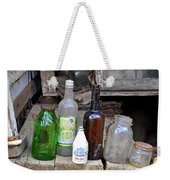Old Bottle Weekender Tote Bag
