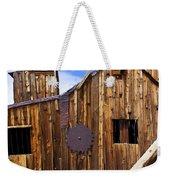 Old Building Bodie Ghost Town Weekender Tote Bag