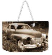 Old Caddy-sepia Weekender Tote Bag