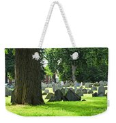 Old Cemetery In Boston Weekender Tote Bag by Elena Elisseeva