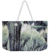 Old Cemetery On A Hill Weekender Tote Bag