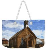 Old Church At Bodie Weekender Tote Bag