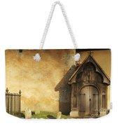Old Church Door Weekender Tote Bag