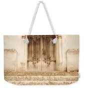 Old Church Door Weekender Tote Bag