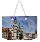 Old City Hall Clock Tower - Posnan Poland Weekender Tote Bag