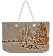Old Country Christmas Weekender Tote Bag