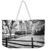 Old Country Saw-mill Weekender Tote Bag