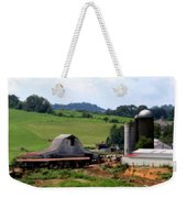 Old Dairy Barn Weekender Tote Bag